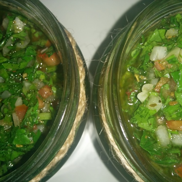 Coco's chimichurri recipe