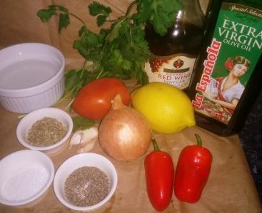 Coco's chimichurri recipe