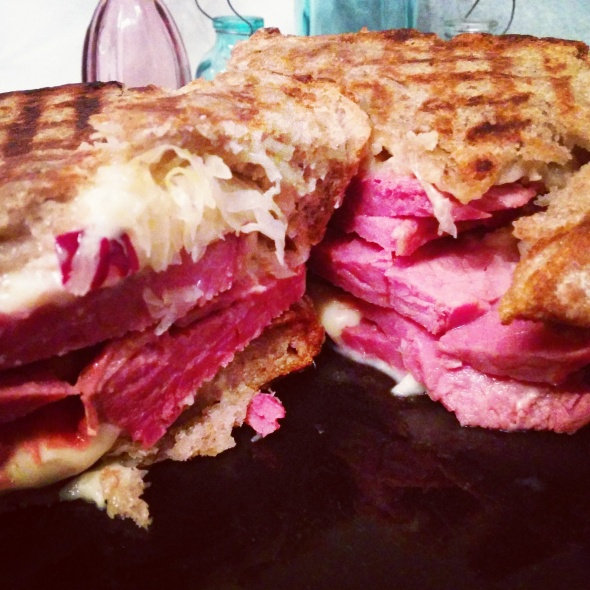 the reuben sandwich